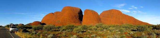 Olgas,北方领土,澳大利亚 库存图片