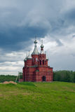 Olgas ancient orthodox church. Russia Stock Photo
