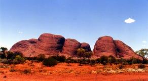 Olgas - Australië Royalty-vrije Stock Afbeeldingen