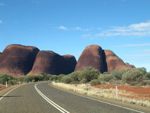 The Olgas Australia Outback Stock Image