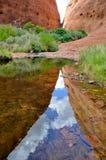 The Olgas, Australian desert Royalty Free Stock Photography