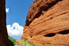The Olgas, Australian desert Stock Photos