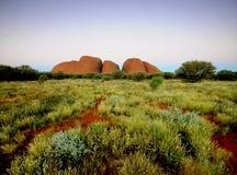 The Olgas Kata Tjuta. In Outback Australia Stock Photo