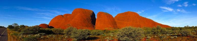 Olgas, Noordelijk Grondgebied, Australië Royalty-vrije Stock Afbeeldingen