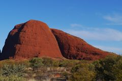 The Olgas in the red centre Royalty Free Stock Photography