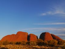 The Olgas in the red centre Stock Photos