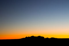 The Olgas at Sunset Royalty Free Stock Photos