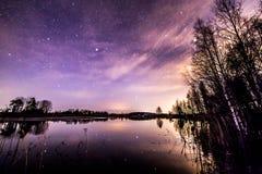 Olhando as estrelas Imagem de Stock