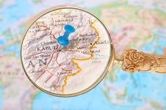 Olhando dentro em Kabul, Afeganistão, Ásia imagem de stock royalty free
