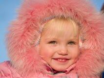 Olhando a menina da beleza Foto de Stock Royalty Free