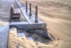 Olhando a praia Fotografia de Stock Royalty Free