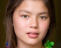 Olhar adolescente tropical imagens de stock royalty free