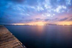 Olhar a cidade ilumina II Imagens de Stock Royalty Free