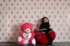 Olhar da boneca Imagens de Stock