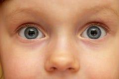 Olhar da criança Imagens de Stock Royalty Free