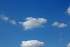 Olhar da nuvem como o cão do anjo Fotos de Stock