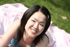 Olhar do japonês Foto de Stock