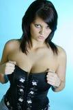 Olhar fixo 'sexy' Imagem de Stock