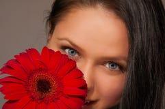 Olhar Flirty Fotos de Stock Royalty Free