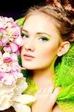 Olhar magnífico Fotos de Stock Royalty Free