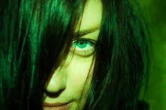 Olhar místico Fotografia de Stock
