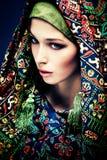 Olhar oriental Foto de Stock Royalty Free