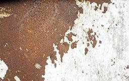Olhar oxidado do metal como o mapa de Ásia imagens de stock