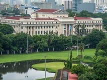 Olhe 11 de junho de 2017 o Museu Nacional das Filipinas de dentro Imagens de Stock Royalty Free