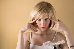 Olhe em meus olhos Foto de Stock Royalty Free