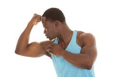 Olhe o braço do cabo flexível Fotografia de Stock