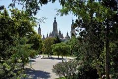 """Olhe o """" Pilar do """" da catedral foto de stock royalty free"""