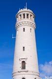 Olhe a torre na montanha de Wielka Sowa, Polônia Fotos de Stock
