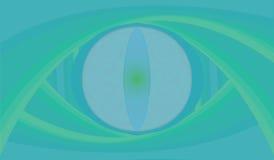 Olho abstrato do réptil ilustração stock