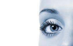 Olho da mulher Fotografia de Stock