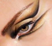 Olho da mulher do Close-up Imagens de Stock