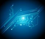 Olho da placa de circuito Imagem de Stock
