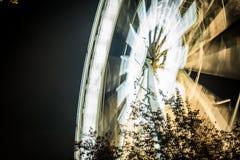 olho de budapest na noite fotografia de stock royalty free
