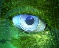 Olho de Digitas Imagens de Stock