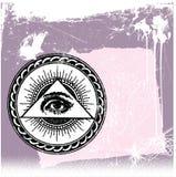 Olho de God´s ilustração royalty free