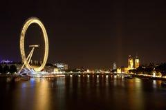 Olho de Londres. Imagens de Stock