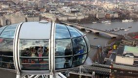 Olho de Londres Imagens de Stock Royalty Free
