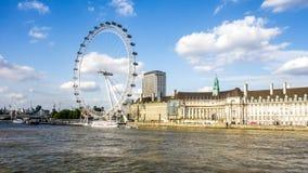 Olho de Londres da coca-cola foto de stock