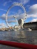 Olho de Londres em Londres Fotografia de Stock