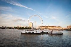 Olho de Londres em Londres Imagem de Stock