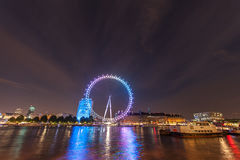 Olho de Londres em Londres Imagens de Stock Royalty Free