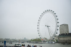 Olho de Londres, Inglaterra Fotos de Stock