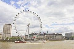 Olho de Londres, Reino Unido Foto de Stock