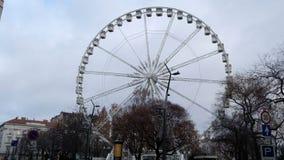 Olho de Sziget do olho de Budapest, Hungria - de Budapest no parque do teri de Erzsebet video estoque