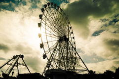 Olho de Tagaytay, Filipinas Foto de Stock Royalty Free