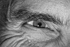 Olho de um homem Fotos de Stock